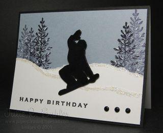 JRB snowboard birthday