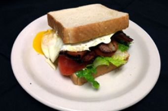 Broken Yolk BLT at Bacon http://goo.gl/vyE2BM