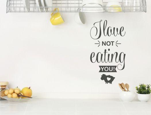 23 best Küchensprüche für Veganer als Wandtattoo images on Pinterest - sprüche für die küchenwand