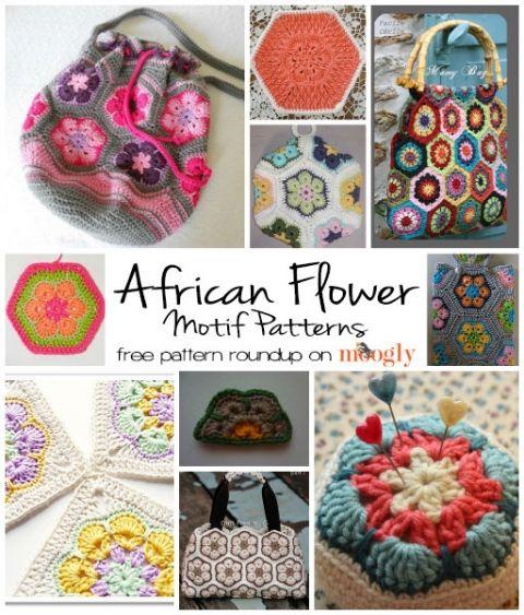 21 besten CROCHET - AFRICAN FLOWERS FREE PATTERNS Bilder auf ...