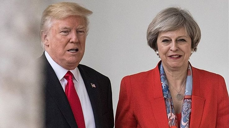 Idiot Trump tells close ally to focus on terrorism after she criticised his far-right retweets.