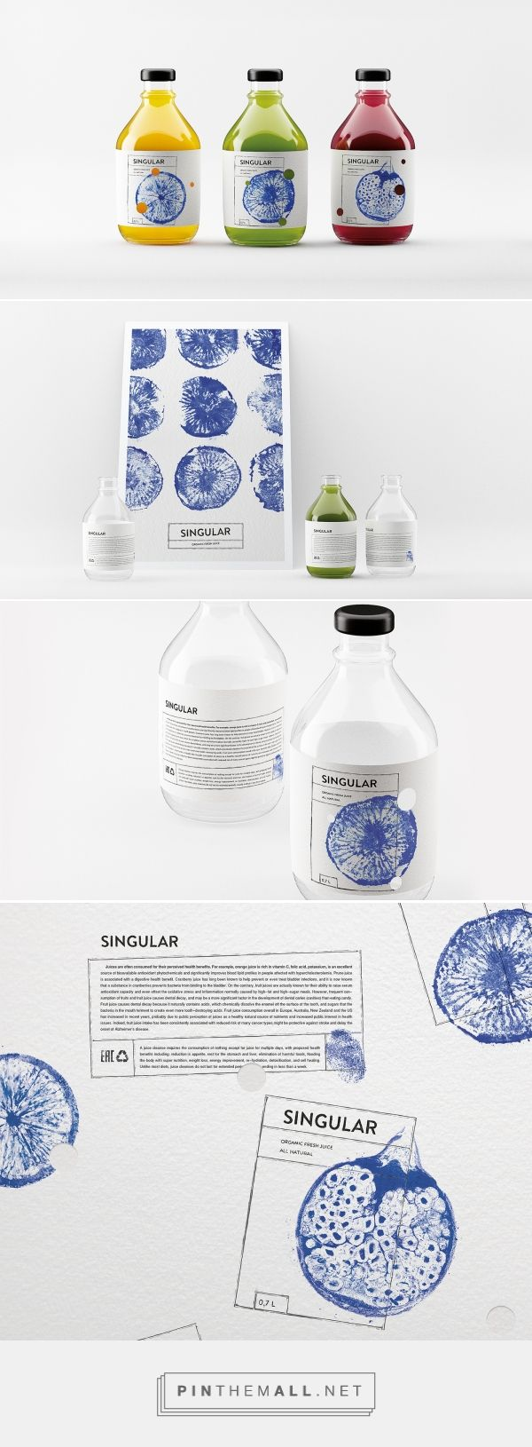 SINGULAR. Fresh juice by Nikita Ivanov