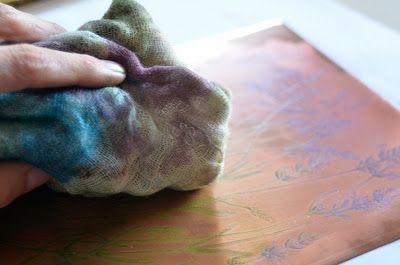 History of #lavender 2 #AdamPoltorak #copperplate