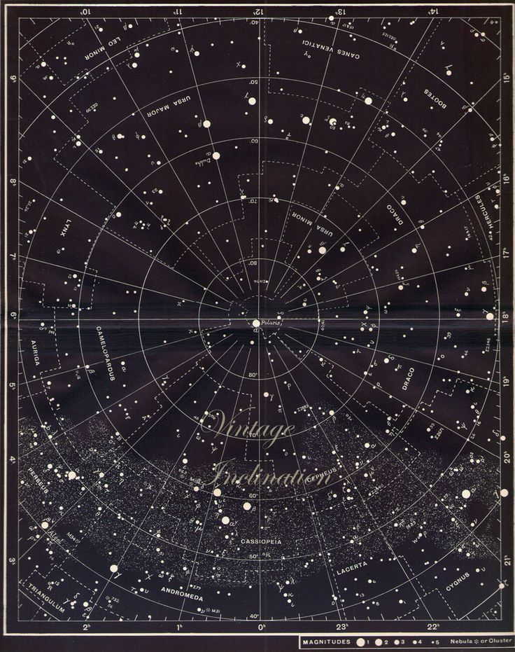 Best Sky Maps Images On   Outer Space Star Chart And
