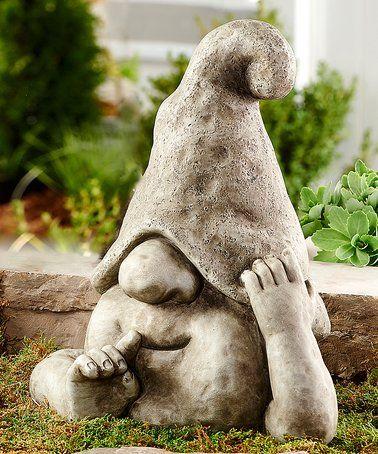 Look what I found on #zulily! Speak No Evil Gnome Figurine #zulilyfinds