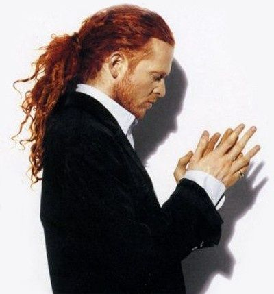 Mick Hucknall (June 8, 1960) British singer, best known from the band Simply Red.