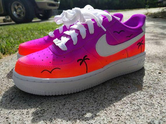 YOUTH/PRESCHOOL Custom Nike Sunset Air