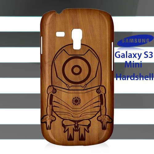Minion Iron Man Wood Samsung Galaxy S3 Mini
