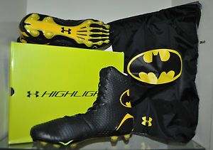 batman football cleats. I have to get these for my brother when he starts football.