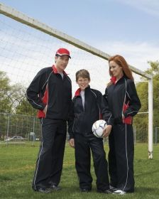 Promotional Products Ideas That Work: LADIES' WOVEN TWILL ATHLETIC PANTS. Get yours at www.luscangroup.com