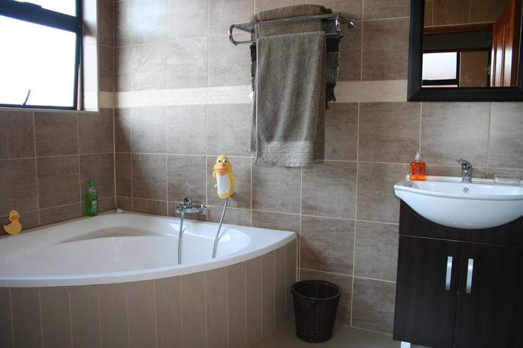 4th bathroom - shower, corner bath, basin. Separate toilet