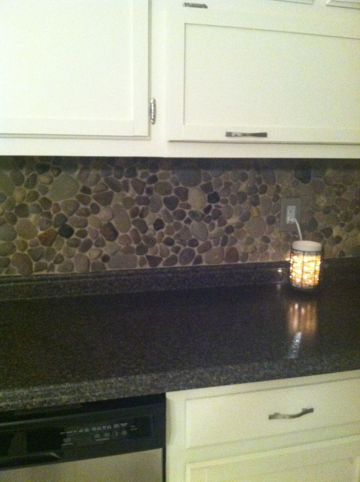 Best 25+ Rock Backsplash Ideas On Pinterest | Faux Rock Walls, Outside Wall  Decor And Stone On House Exterior