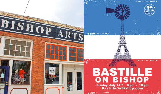 bastille on bishop in oak cliff