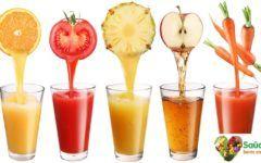 Receitas de sucos detox desintoxicantes