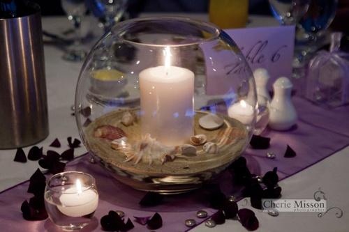#beachtheme #purpletheme #sand #candle