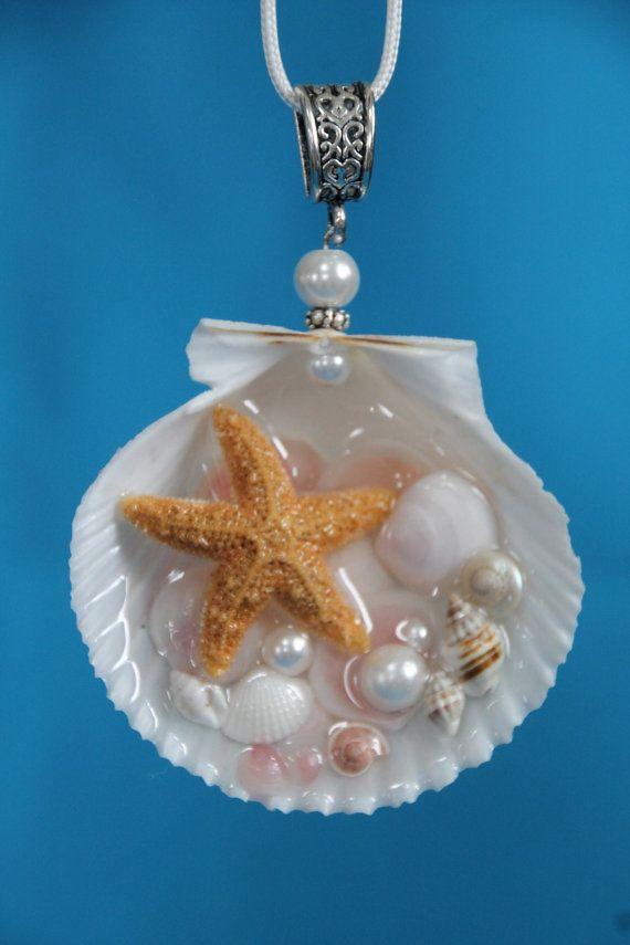 Meerjungfrau Seashell Seestern Rose Cup Muscheln von Luxembears