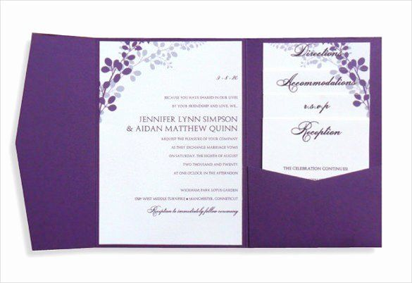 Wedding Invitations Template Word Fresh Ms Word Invitation Temp Pocket Wedding Invitations Wedding Invitations Printable Templates Wedding Invitation Templates