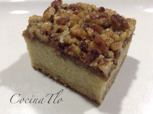 Pastel de nueces thermomix