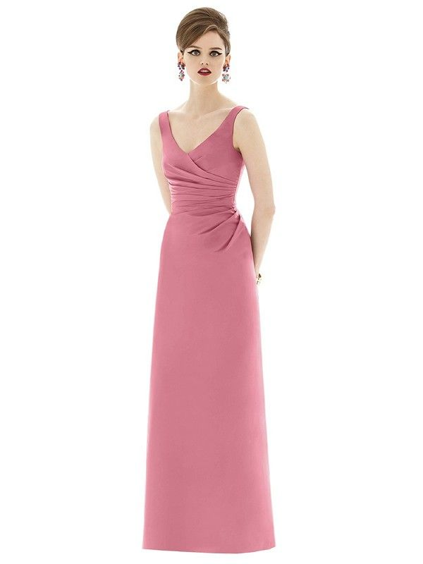 This Gorgeous Alfred Sung D643 Bridesmaid Dress Features D At Its Best Beautifully Swept To