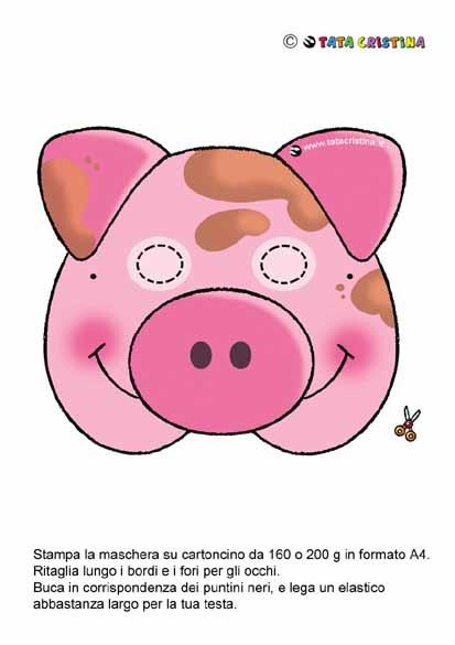 Babe Pig Mask