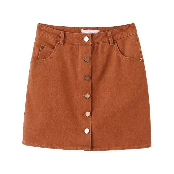 Best 20  Brown skirt outfits ideas on Pinterest | Orange skirt ...