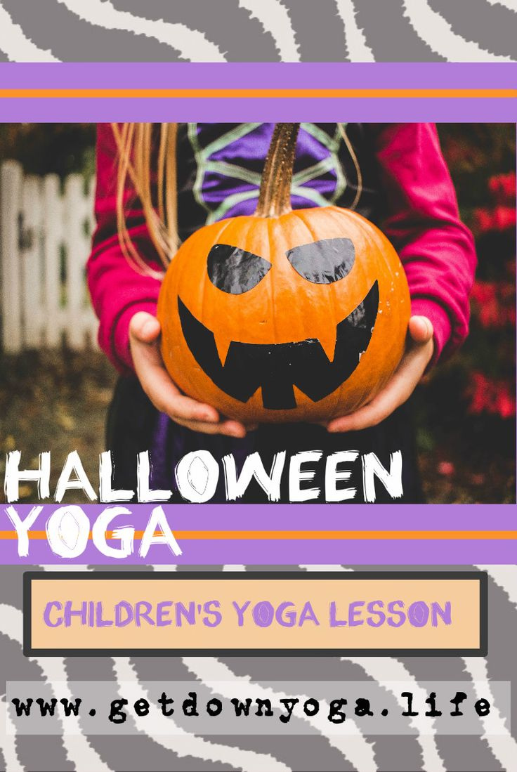 In this not-so-scary Halloween Yoga lesson, students explore poses such as Mummy pose, Witch on a Broom, Frankenstein, Pumpkin, Werewolf, Boo breathing, and more. This product includes a detailed lesson plan for a 45-min Yoga class, suggested poses aligned with the book, One Halloween Night, a Halloween poem with accompanying poses, take-home puppet cut-outs (for the poem), a Fall meditation, and a newsletter.