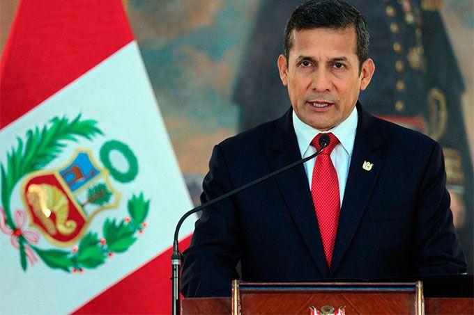 Ollanta Humala es enviado al penal donde está encarcelado Fujimori