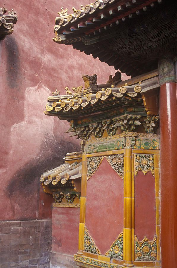 Forbidden City Gate, Beijing, ChinaTravel To China Beijing, Forbidden Cities, Beijing China, Imperial Palaces, China Palaces, Forbidden City, Cities Gates, Architecture, Pink And Gold