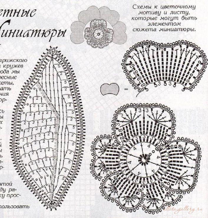 Gallery.ru / Фото #7 - Сюжетные миниатюры крючком - Alleta