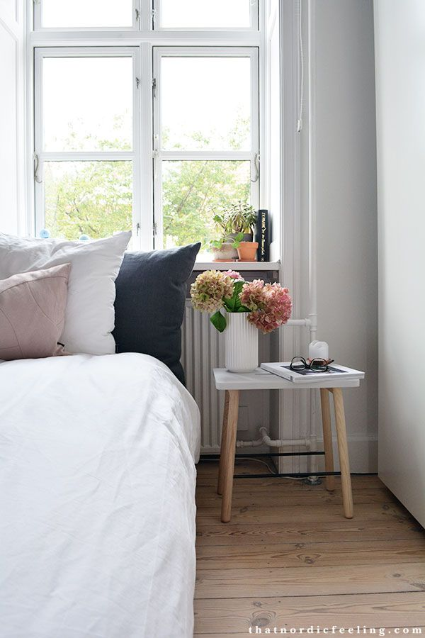 Bedroom via @nordicfeeling. See more #nordic #interior #inspiration @nordicstylemag