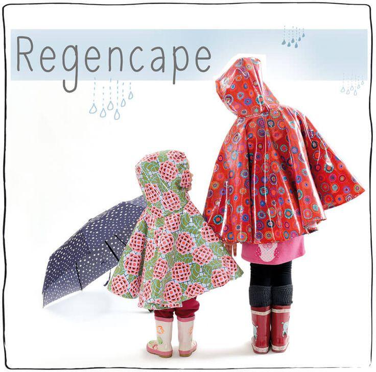 Recencape, Regenschutz, Wachstuch