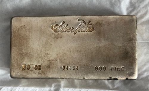 50 Troy Ounce 999 Silver Bar Towne