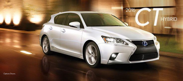 2016 Lexus CT Hybrid - New Lexus Model Details from Lexus of Las Vegas