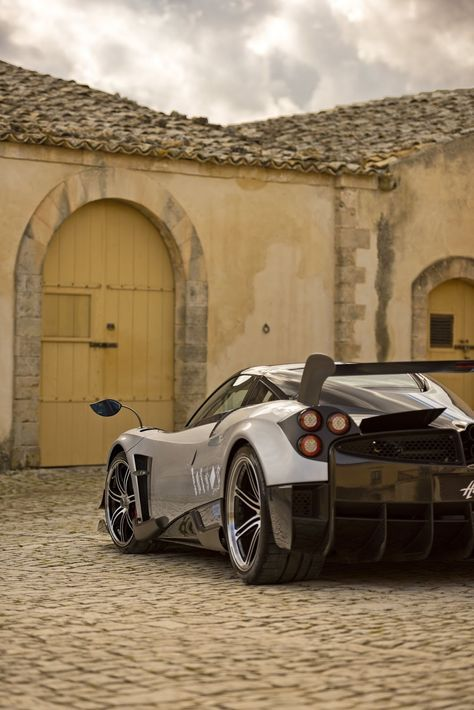 The 2.5 Million Pagani Huayra BC is spits out 789 turbocharged horsepower, too, making this BC beastly enough to live up to its godly name.