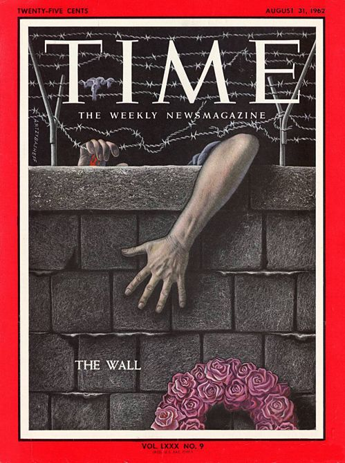 50 years ago today, East Germany begins construction of the Berlin Wall.