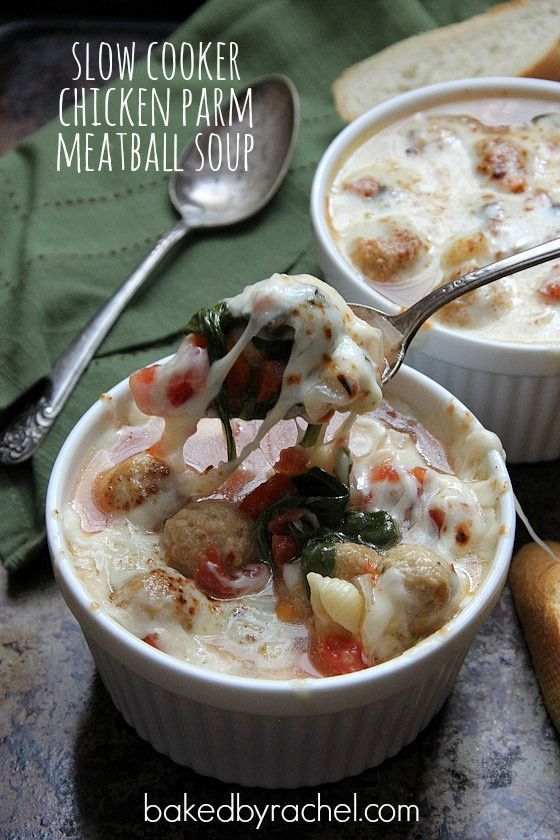 Meatball soup, Slow cooker chicken and Soups on Pinterest