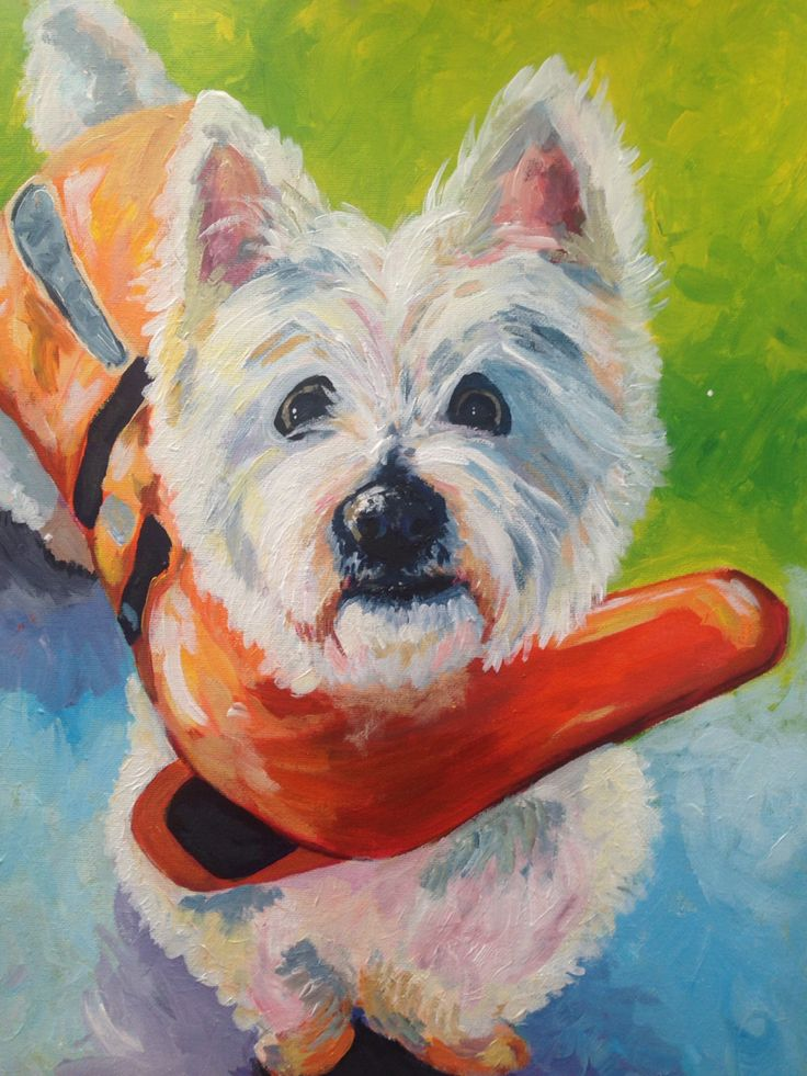 Archie Acrylic on canvas  2015