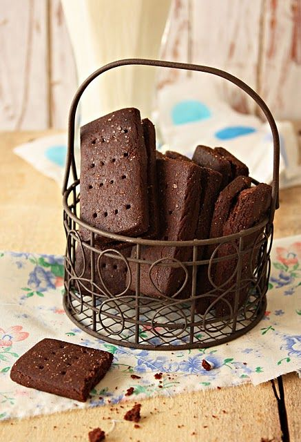 Bourbon biscuits, my partner's favourite biscuits.