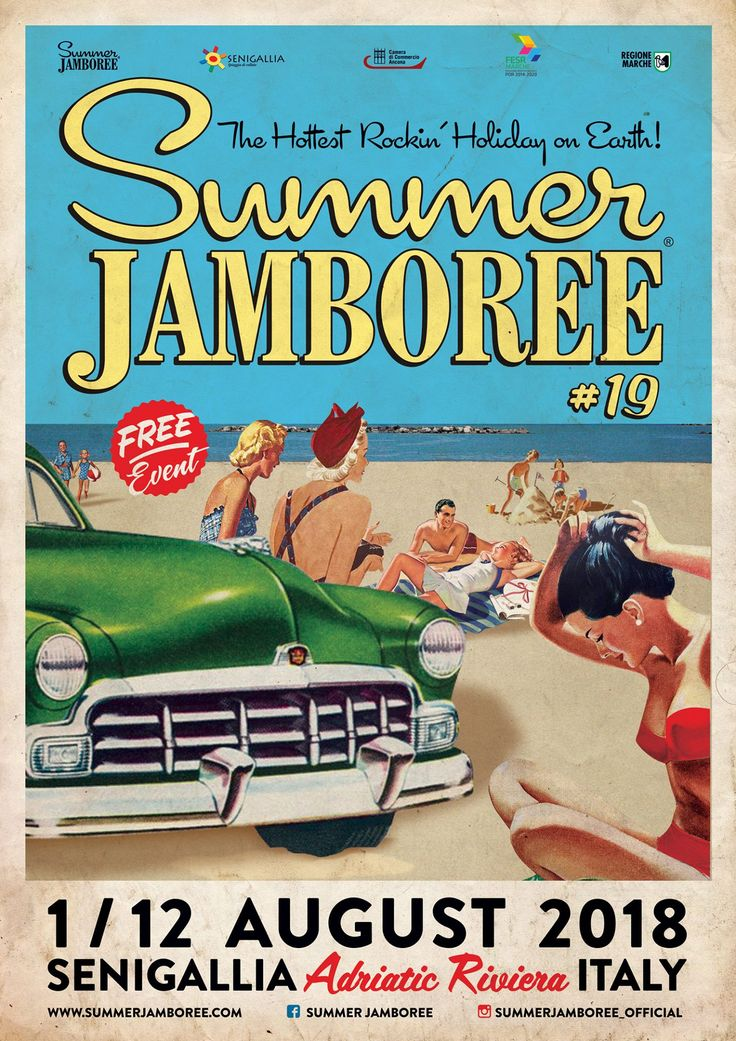 Summer Jamboree #19 1-12 August 2018. Senigallia. Italy.