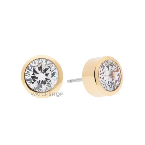 Ladies Michael Kors PVD Gold plated Glam Stud Earring MKJ4704710