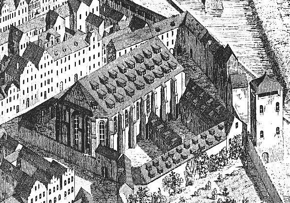 Franziskanerkirche Dresden 1634 - Franziskanerkloster (Dresden) - Wikipedia, the…