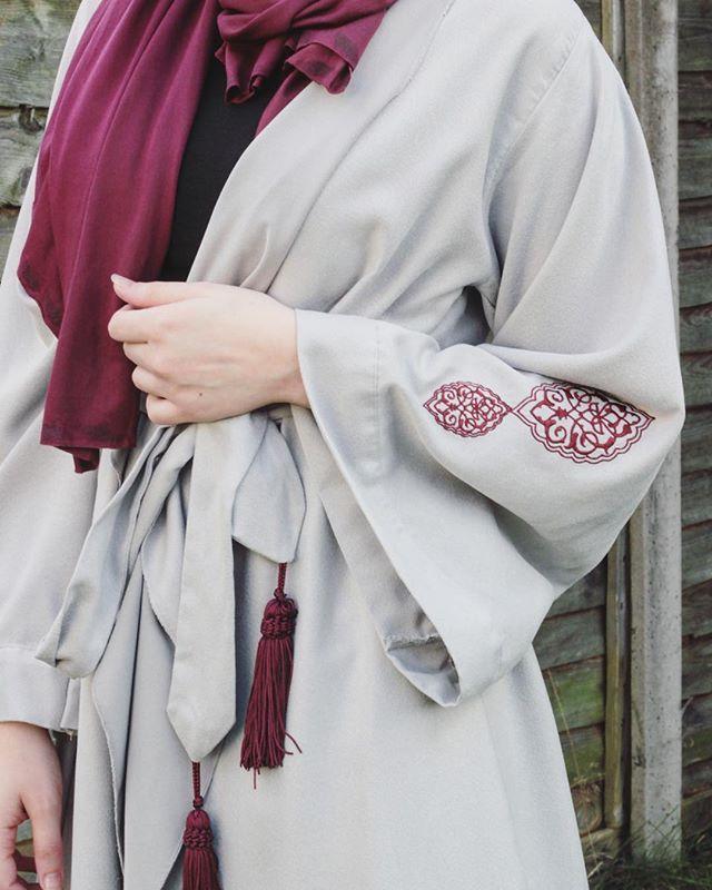 LOVE this Abaya Like Dress from @ekicidesign ❤️