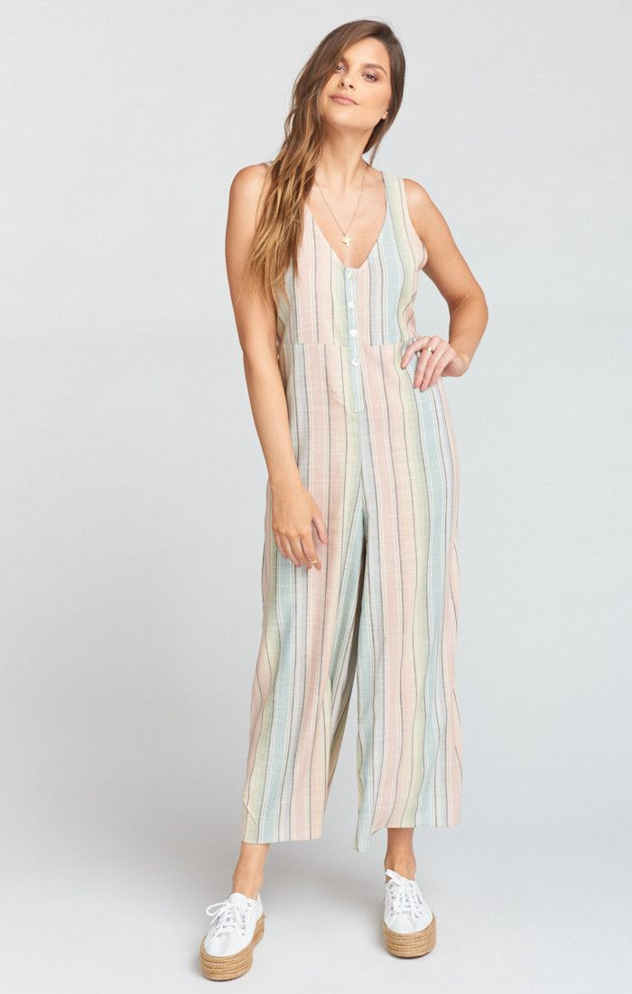 cd2c81e4996 Dunaway Jumpsuit ~ Nevada Stripe Flux