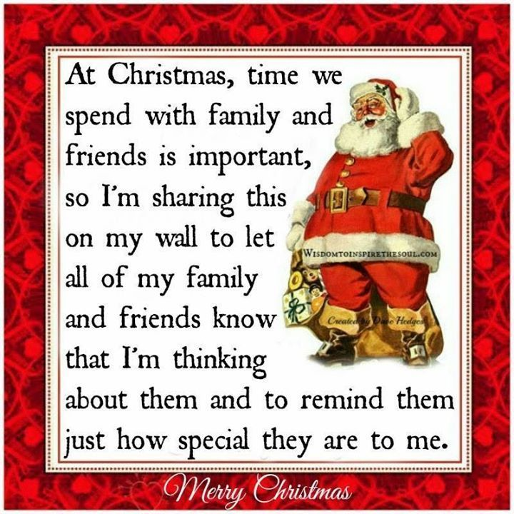 2017 Merry Christmas sayings about family