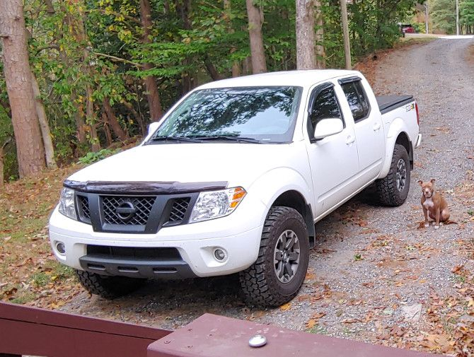 2016 Nissan Frontier Crew Cab Pro 4x With 255 85r16 In 2020 Nissan Frontier Crew Cab Nissan Frontier Crew Cab