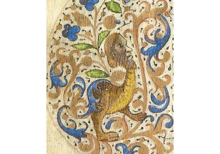 Codice Manuscrito Iluminado Facsimil Chansonnier Cordiforme Montchenu