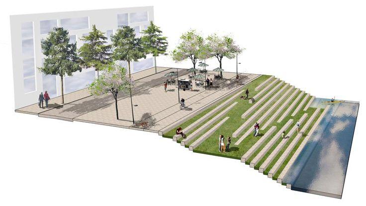 Ait Urbanism + Landscape - Heuston Station Masterplan