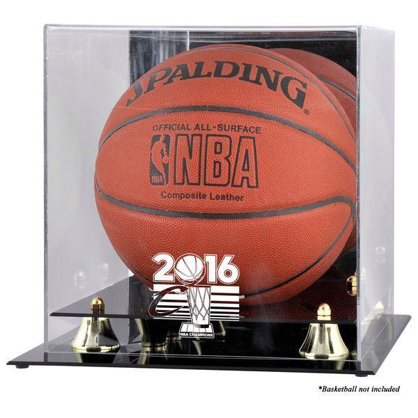 Cleveland Cavaliers Fanatics Authentic 2016 NBA Finals Champions Logo Golden Classic Basketball Display Case - $89.99