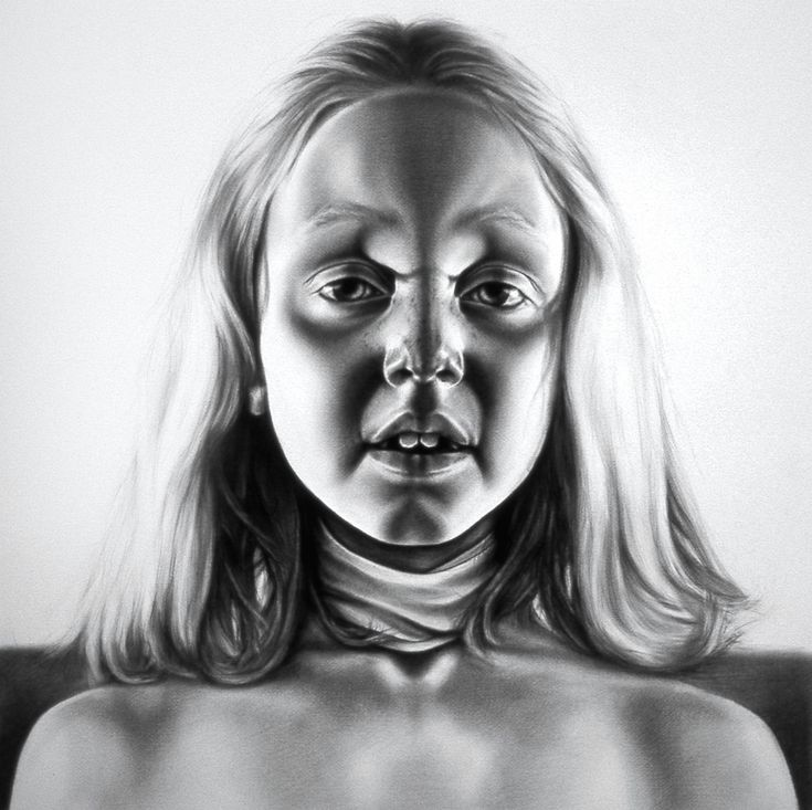 The-Institution-charcoal-on-paper-28-x-28-inches-2003