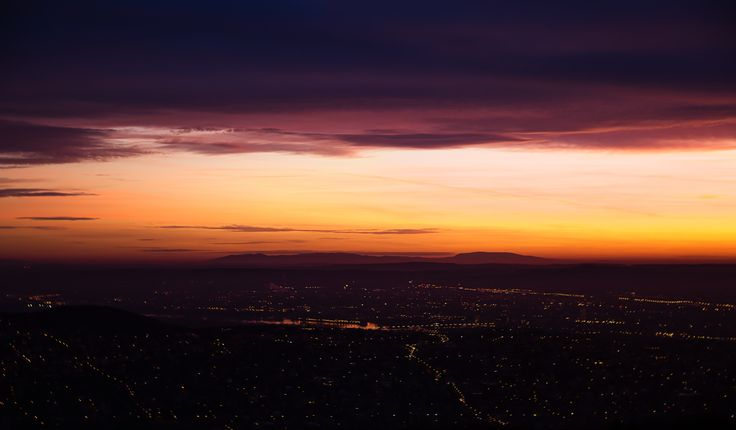 Above the city in the morning by Denes Kiss on 500px